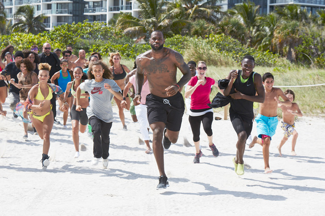 Музыка и видеоролик из рекламы Nike Basketball - Training Day (LeBron James)