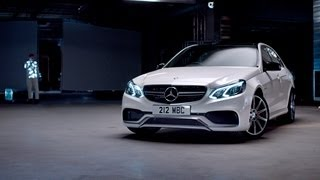 Музыка  и видеоролик из рекламы Mercedes-Benz E63 AMG - SOUND WITH POWER