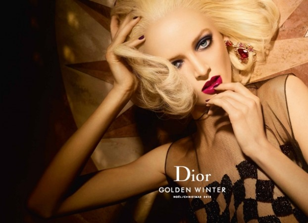 Музыка и видеоролик из рекламы Dior - Golden Winter  (Christmas Makeup Collection 2013)