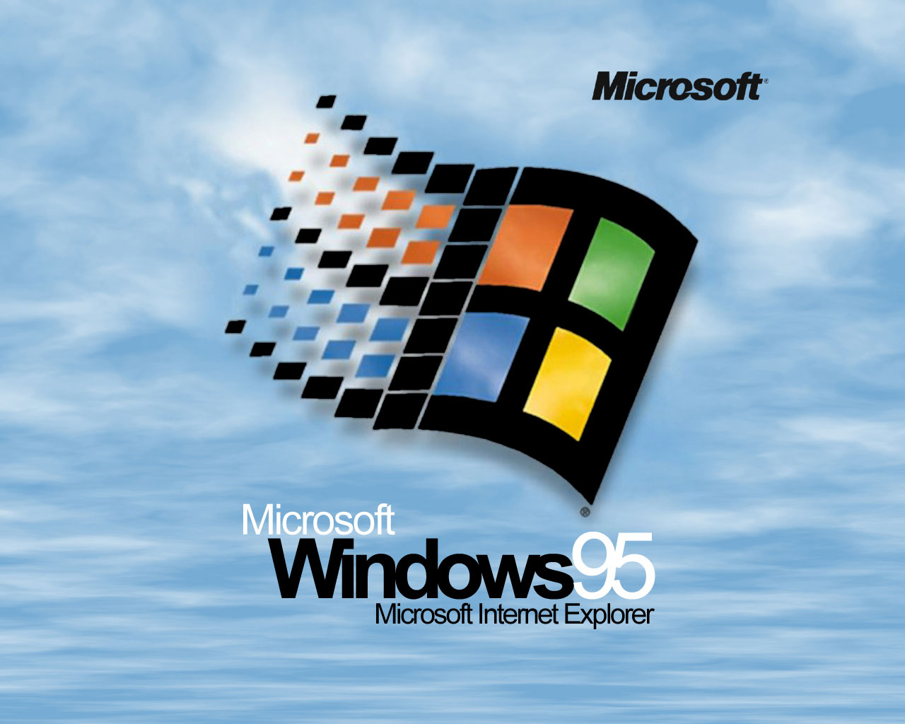 Музыка и видеоролик из рекламы Microsoft Windows 95 - Start me Up