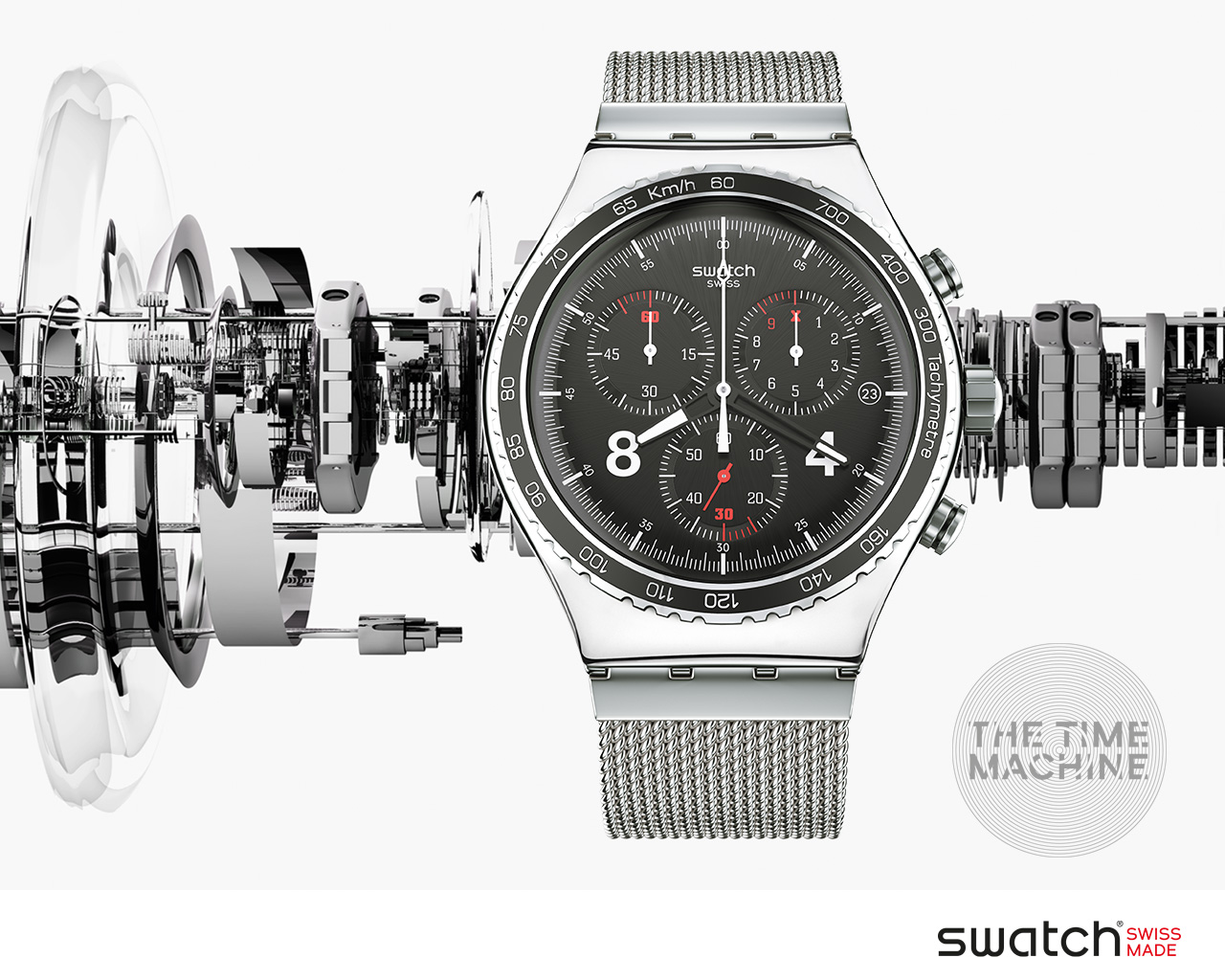 Музыка и видеоролик из рекламы Swatch - Irony Chrono Collection