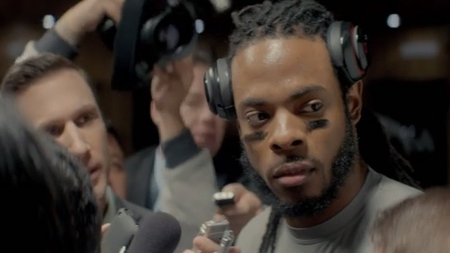 Музыка и видеоролик из рекламы Beats by Dre - Hear What You Want (Richard Sherman)