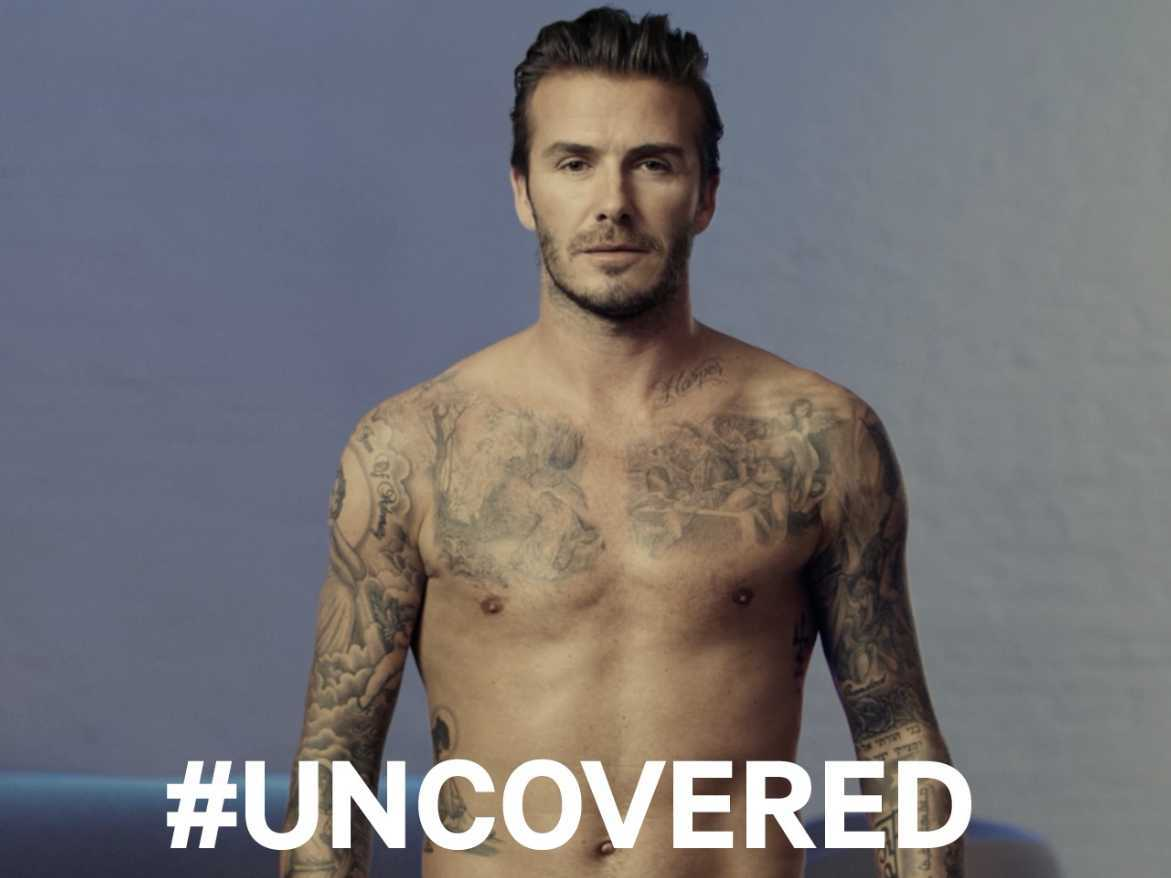 Музыка и видеоролик из рекламы H&M - Covered or Uncovered (David Beckham)
