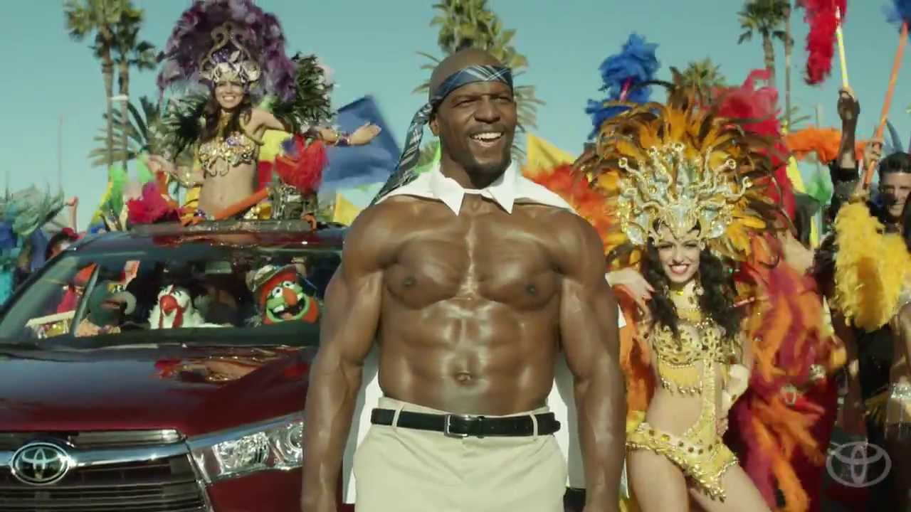 Музыка и видеоролик из рекламы Toyota Highlander - Terry Crews and the Muppets