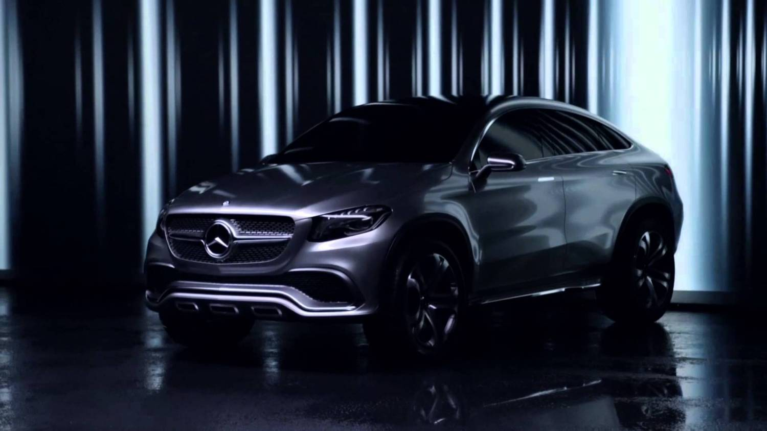 Музыка из рекламы Mercedes-Benz - Concept Coupe SUV