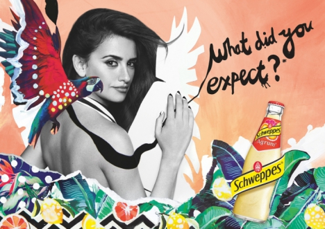 Музыка и видеоролик из рекламы Schweppes - What Did You Expect (Penelope Cruz)