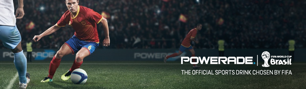 Музыка и видеоролик из рекламы Powerade - There's Power in Every Game