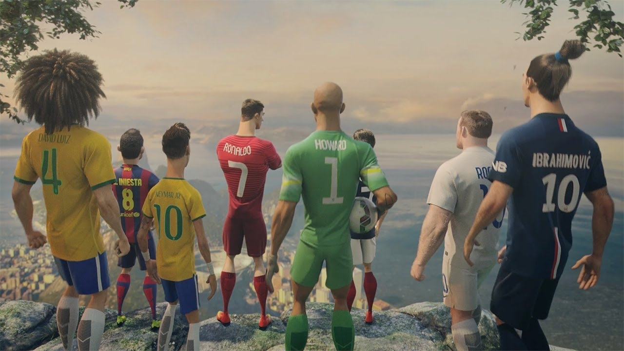 Музыка и видео из рекламы Nike Football - The Last Game (Ronaldo, Neymar Jr., Rooney, Zlatan, Iniesta)