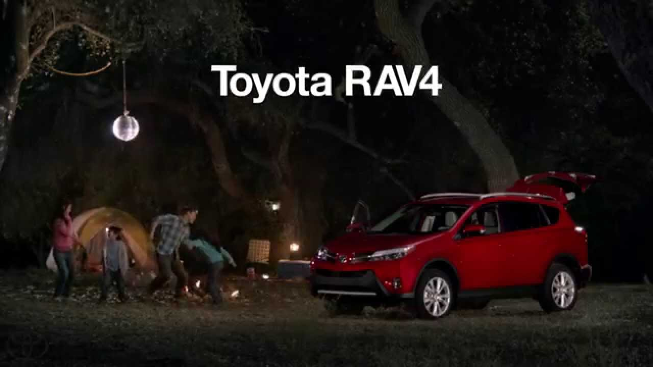 Музыка и видеоролик из рекламы Toyota RAV4 - Party
