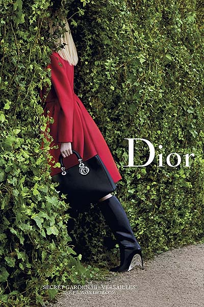 Музыка и видеоролик из рекламы Dior Secret Garden III - Versailles - The Film