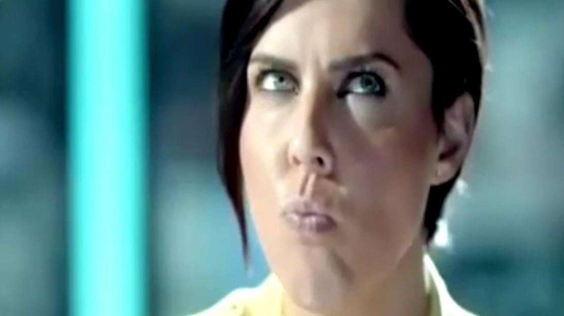 Кто эта девушка из рекламы орбит