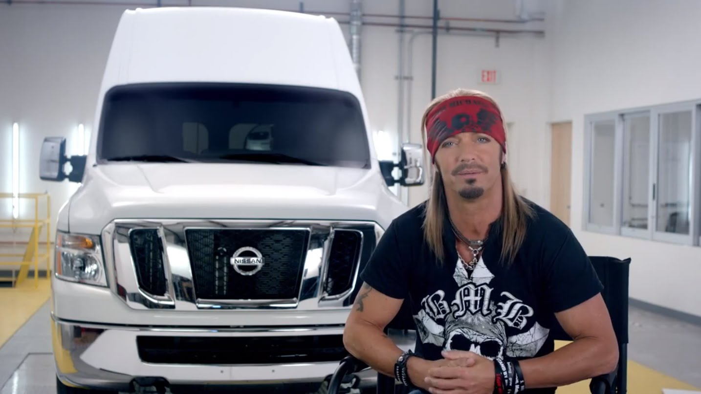 Музыка и видеоролик из рекламы Nissan - Tough Love (Bret Michaels)