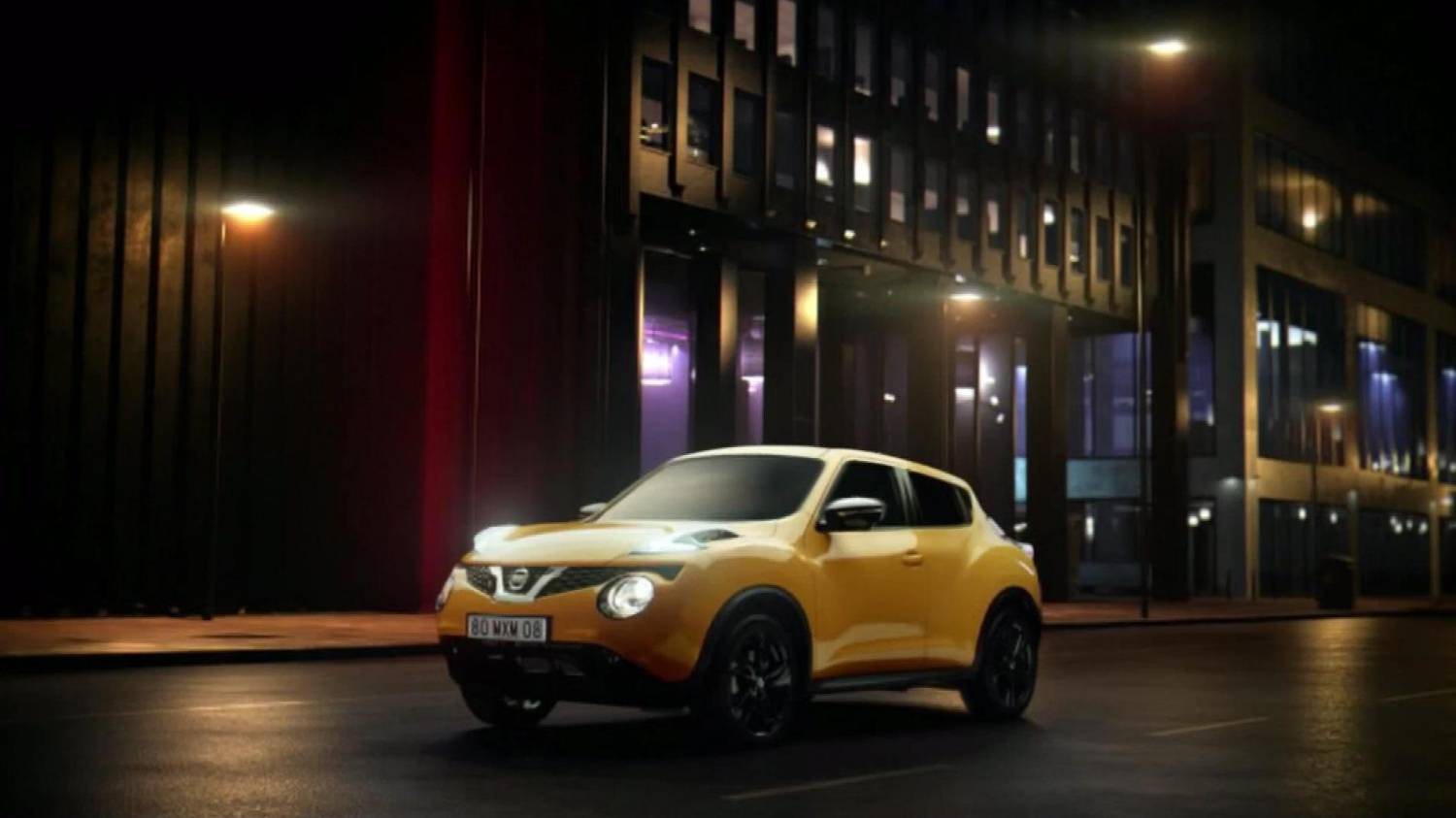 Музыка и видеоролик из рекламы Nissan Juke - Tested To Thrill