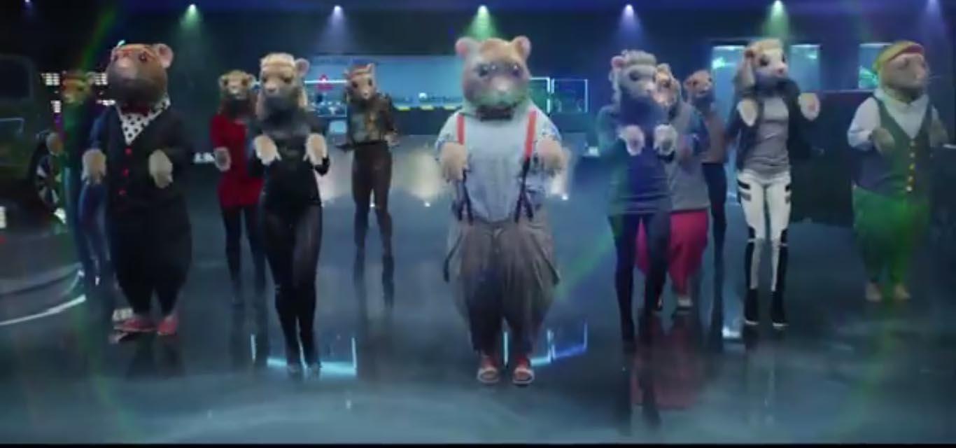Музыка и видеоролик из рекламы Kia Soul EV - Hamster