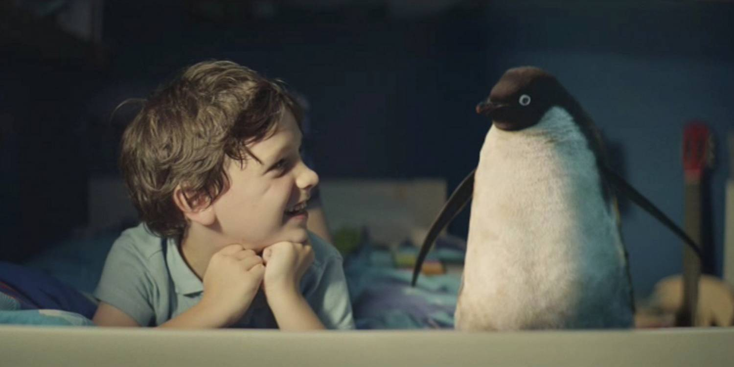 Музыка и видеоролик из рекламы John Lewis - Monty The Penguin