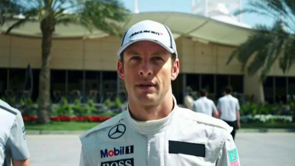 Музыка из рекламы Mobil 1 - Before the Oil Goes In (Jenson Button)