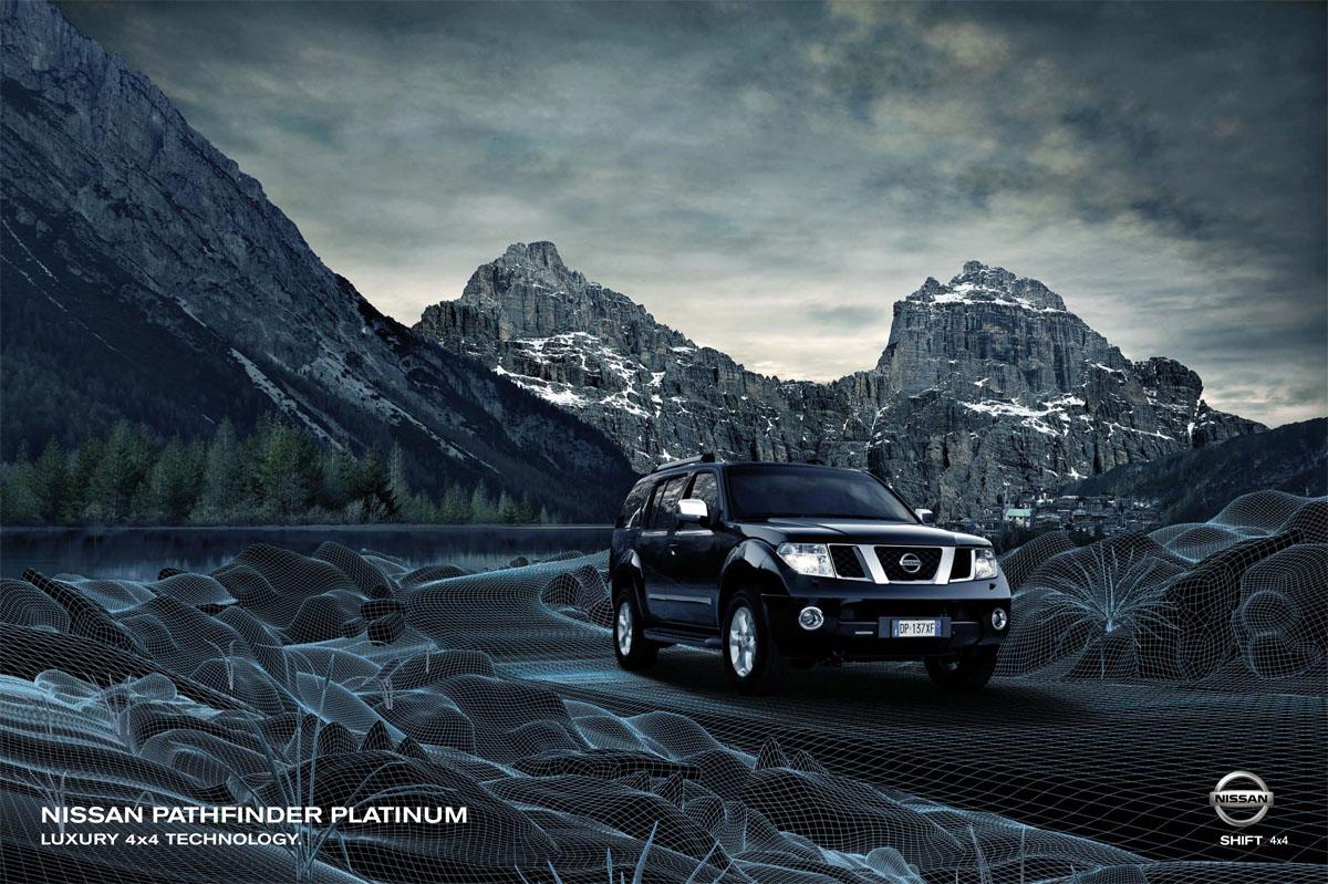 Музыка и видеоролик из рекламы Nissan Pathfinder