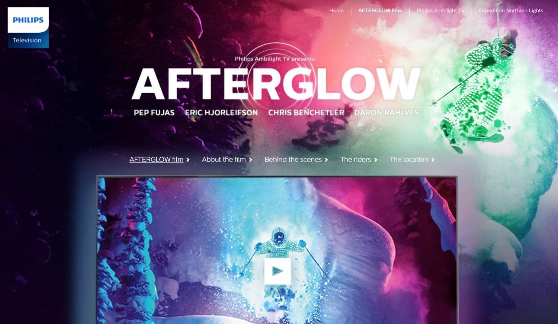 Музыка и видеоролик из рекламы Philips Ambilight - AFTERGLOW