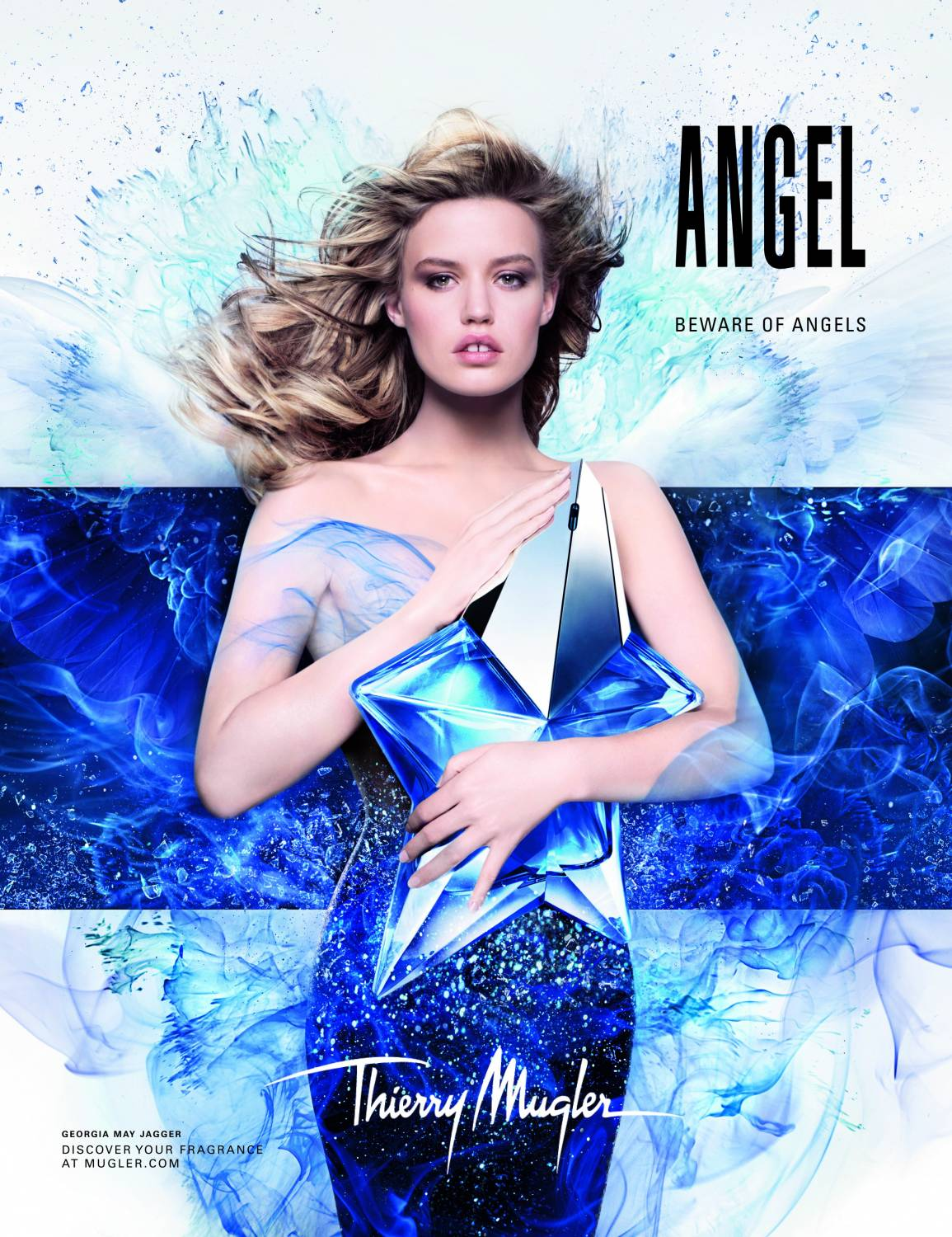 Музыка из рекламы Thierry Mugler - Angel - Beware Of Angels (Georgia May Jagger)