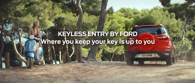 Музыка и видеоролик из рекламы Ford - Keyless Entry with Power Button