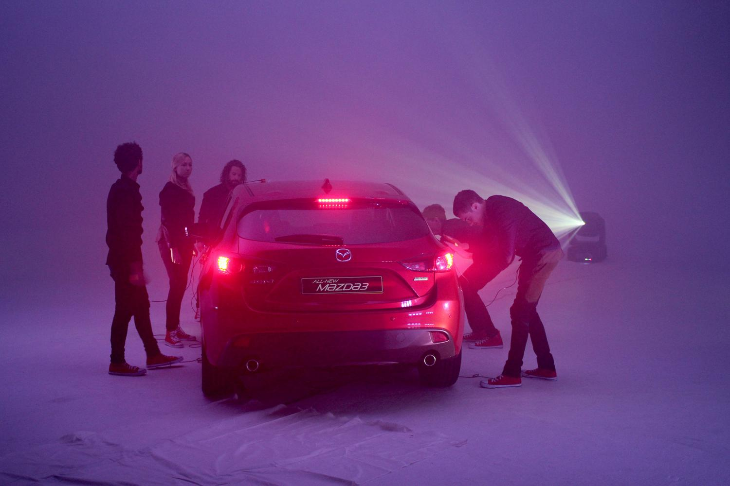 Музыка и видеоролик из рекламы Mazda and Mogees Collaboration