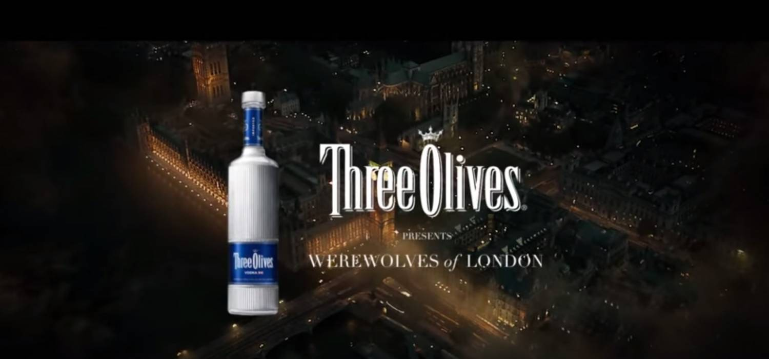 Музыка и видеоролик из рекламы Three Olives Vodka - Werewolves of London
