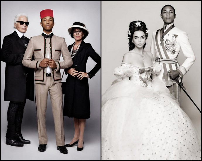 Музыка и видеоролик из рекламы CHANEL - Reincarnation (Karl Lagerfeld, Pharrell Williams, Cara Delevingne, Géraldine Chaplin)