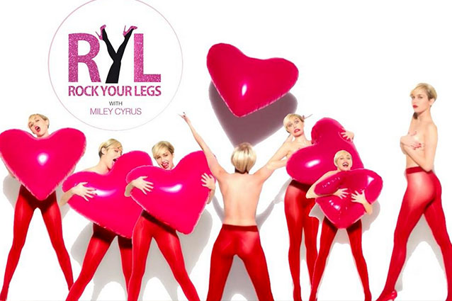 Музыка из рекламы Golden Lady - Rock Your Legs (Miley Cyrus)