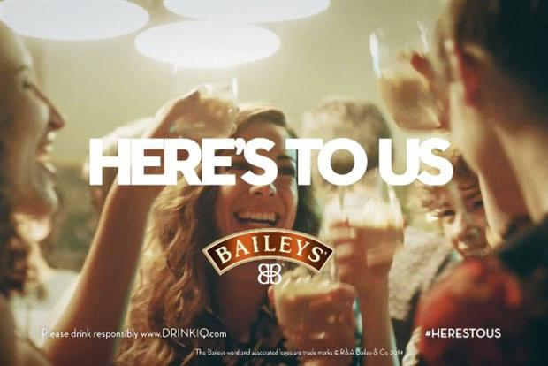 Музыка и видеоролик из рекламы BAILEYS Here's To Us - Global Girls' Night Out