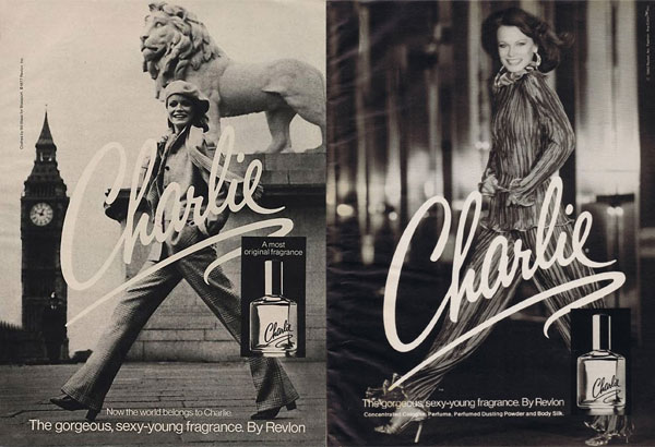 Музыка и видеоролик из рекламы Revlon - Charlie (Shelley Hack & Bobby Short)