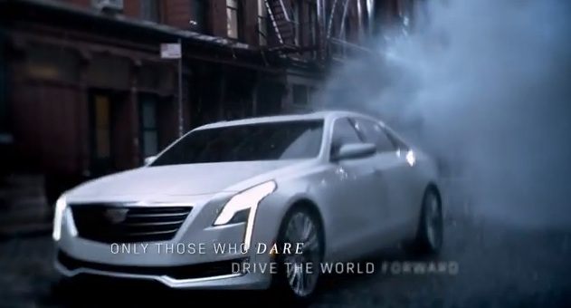 Музыка и видеоролик из рекламы Cadillac – The Daring
