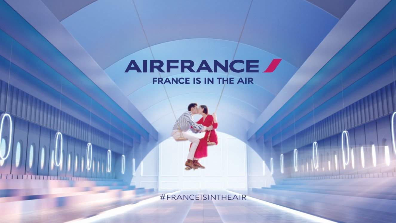 Музыка и видео из рекламы Air France - France is in the air