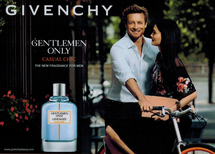 Музыка и видеоролик из рекламы Givenchy - Gentlemen Only Casual Chic (Simon Baker)