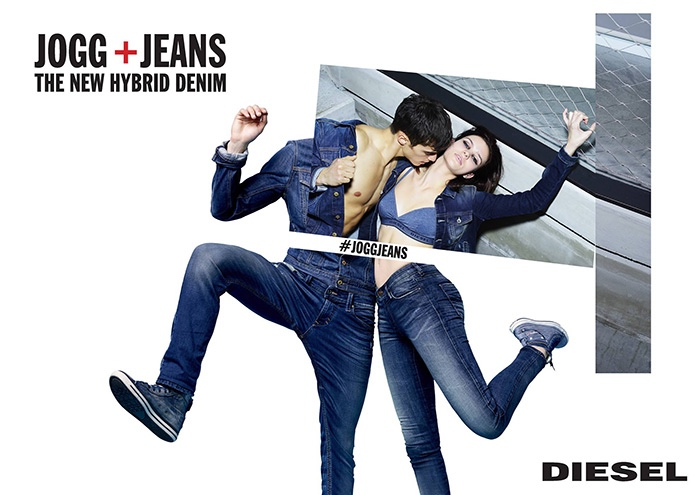 Музыка и видео из рекламы Diesel Jogg + Jeans The New Hybrid Denim