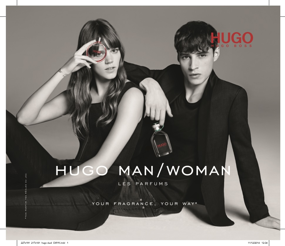 Музыка из рекламы HUGO Man-Woman – Your Fragrance, Your Way (Freja Beha Erichsen, Adrien Sahores)