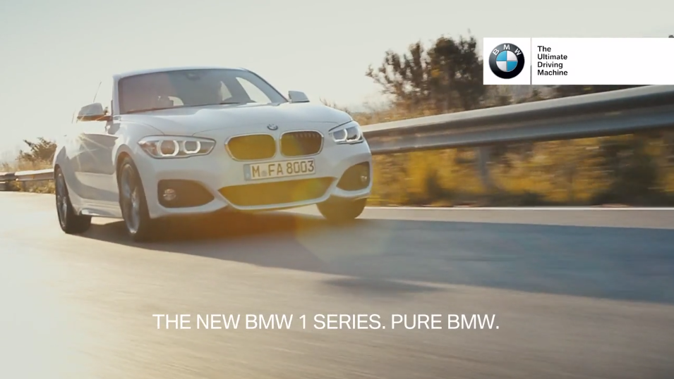 Музыка из рекламы BMW 1 Series – Pure BMW