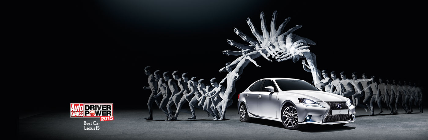 Музыка и видеоролик из рекламы Lexus IS - Flow