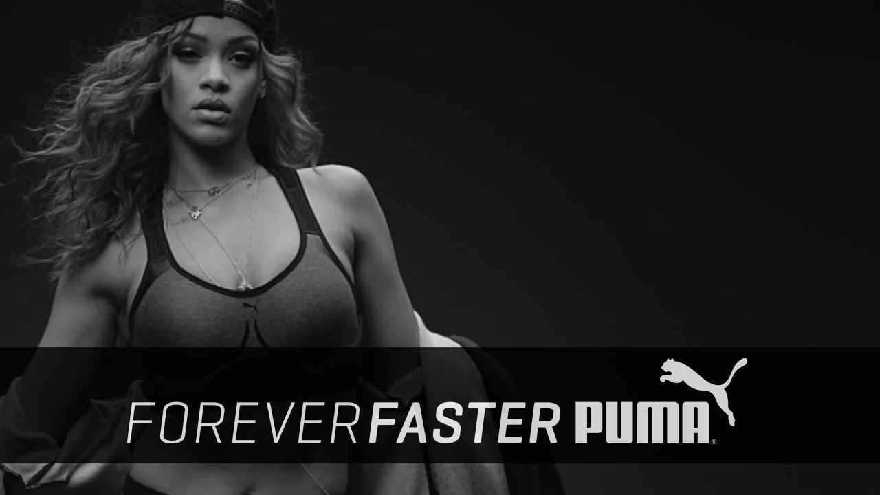 Музыка из рекламы Puma - Trains for platinum (Rihanna)