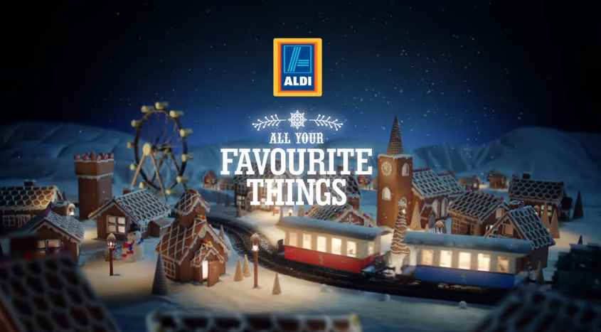 Музыка из рекламы Aldi – Favourite Things Christmas