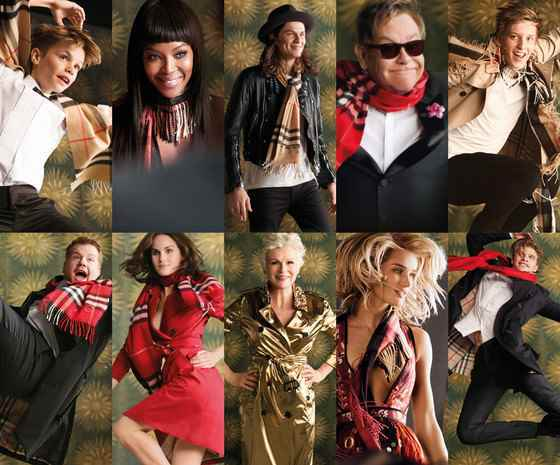 Музыка из рекламы Burberry - 15 Years of Billy Elliot (Romeo Beckham, Elton John,  Naomi Campbell)