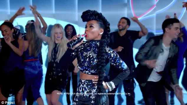 Музыка из рекламы Pepsi - Joy of Pepsi (Janelle Monáe)