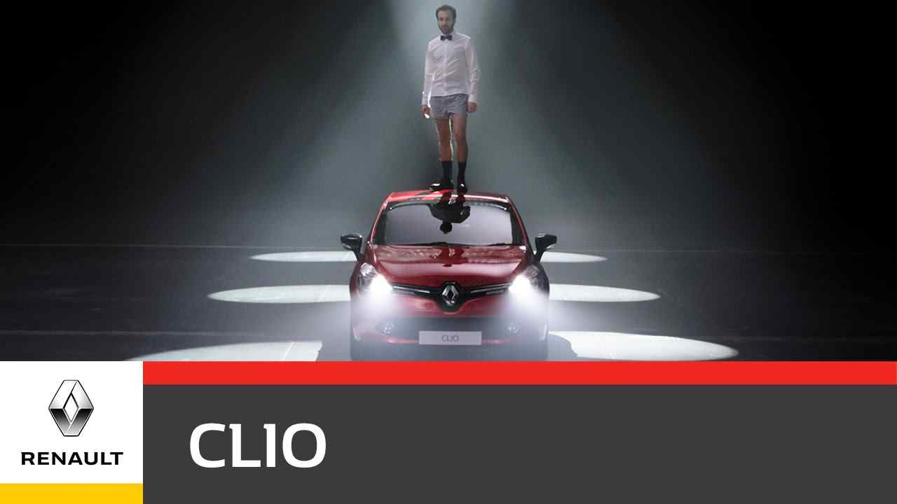 Музыка из рекламы Renault CLIO - Be moved, not driven