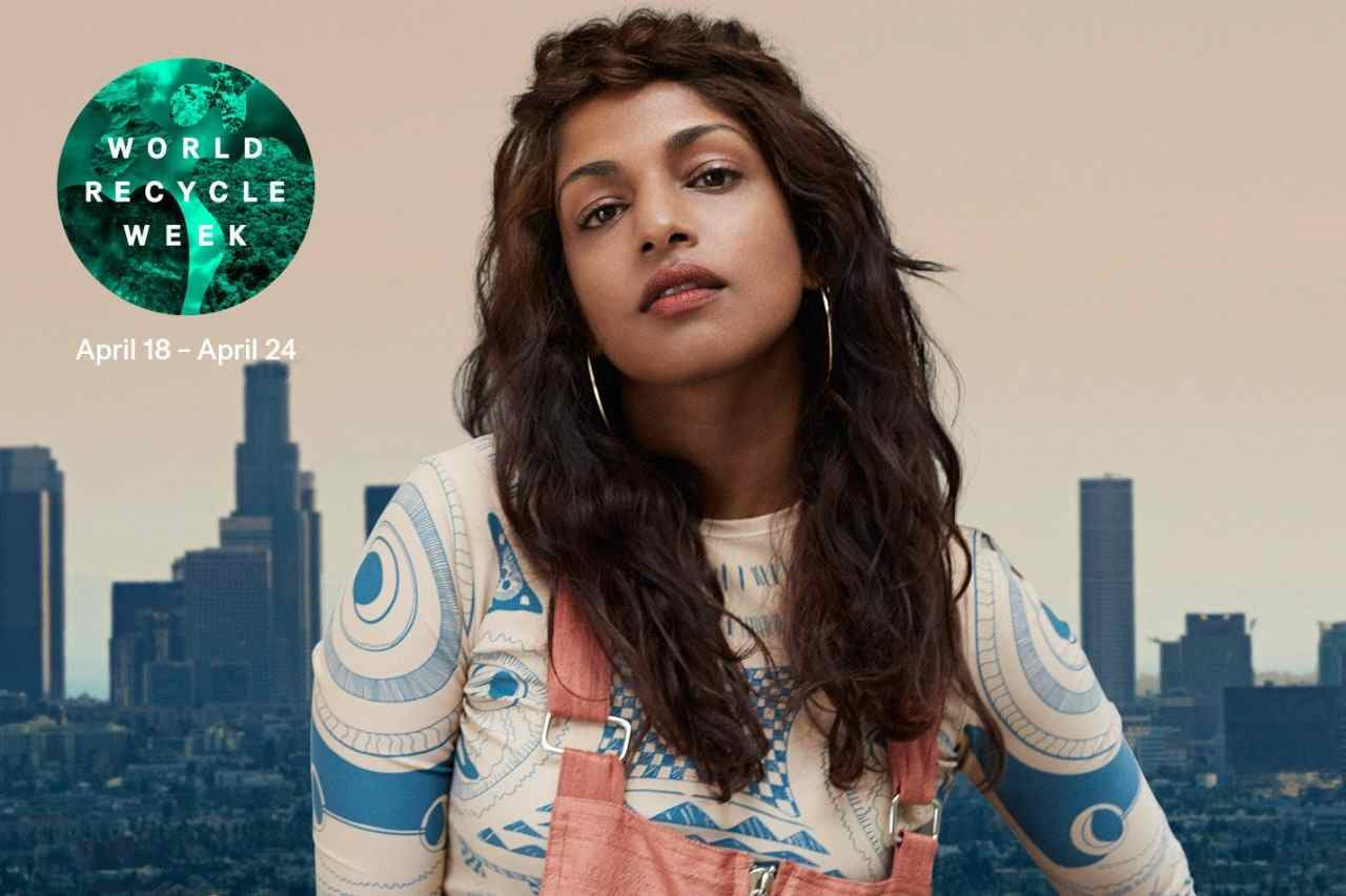 Музыка из рекламы H&M - World Recycle Week (M.I.A)