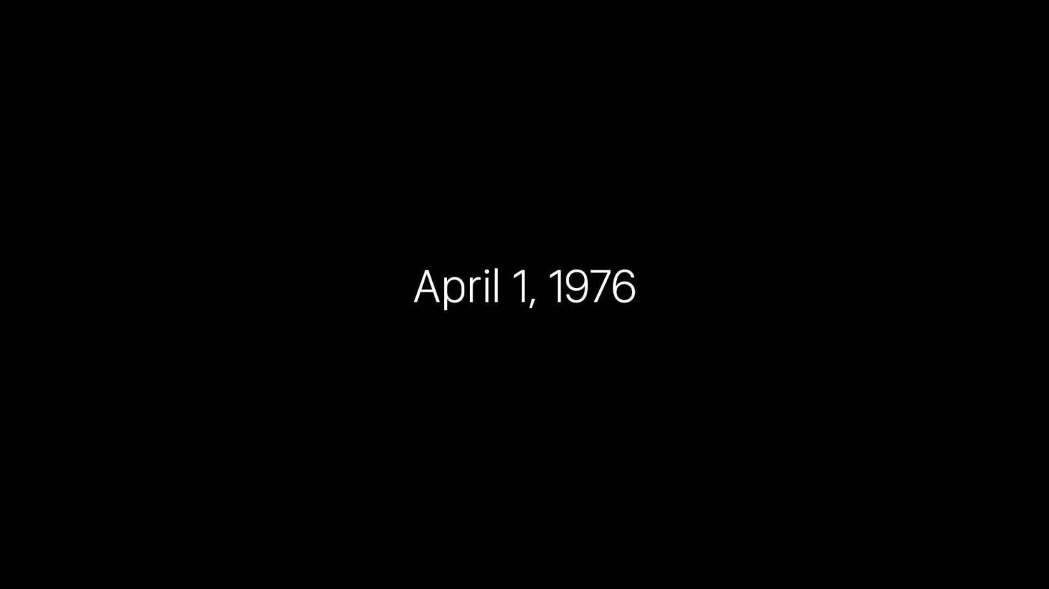Музыка из рекламы Apple - 40 Years in 40 Seconds