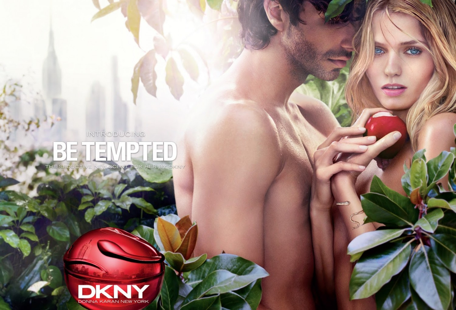 Музыка из рекламы DKNY - Be Tempted (Abbey Lee Kershaw)