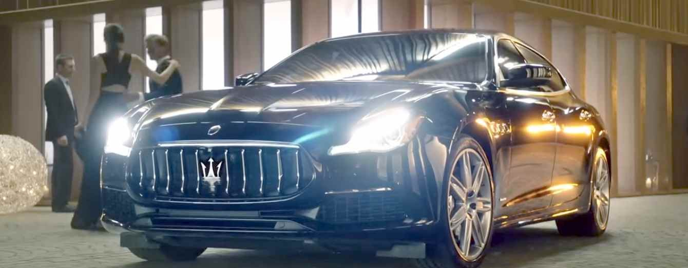 Музыка из рекламы Maserati Quattroporte - Meet your Equal