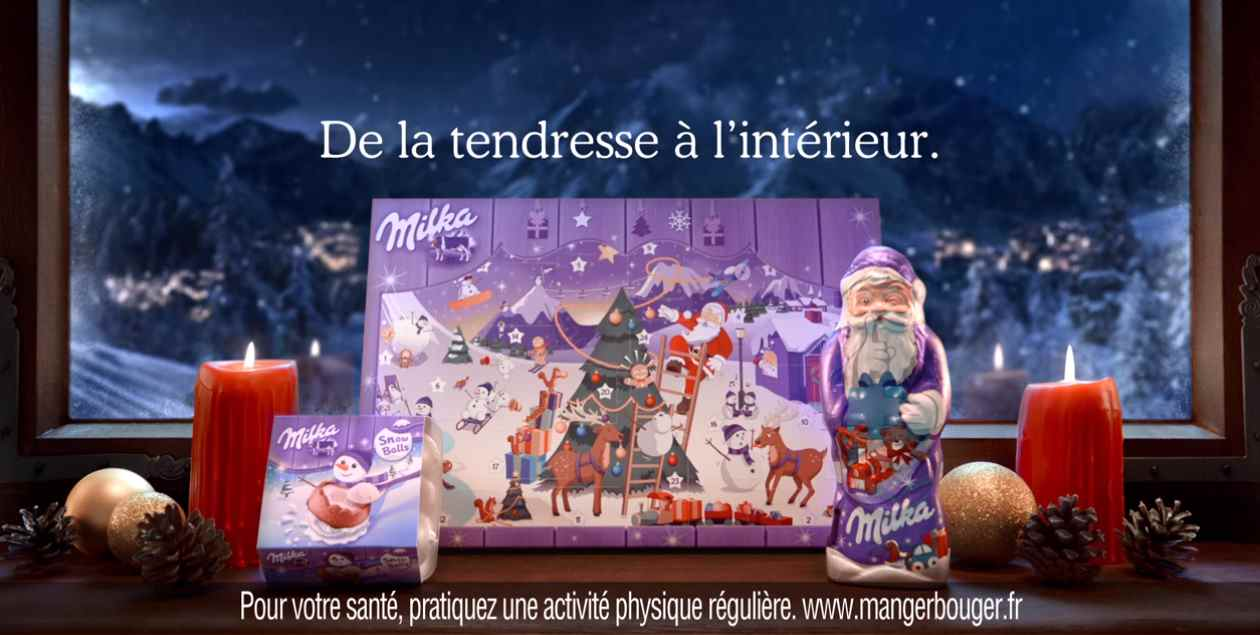 Музыка из рекламы Milka Noël - La Machine à remonter le temps