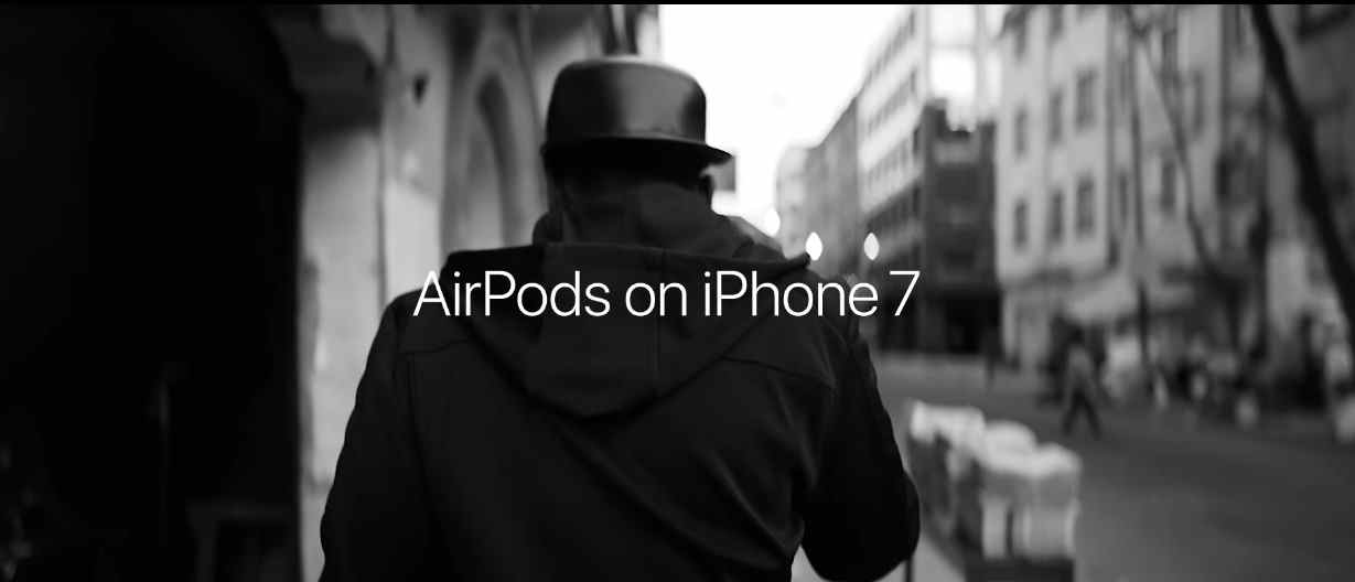 Музыка из рекламы Apple iPhone 7 + AirPods – Stroll (Lil Buck)