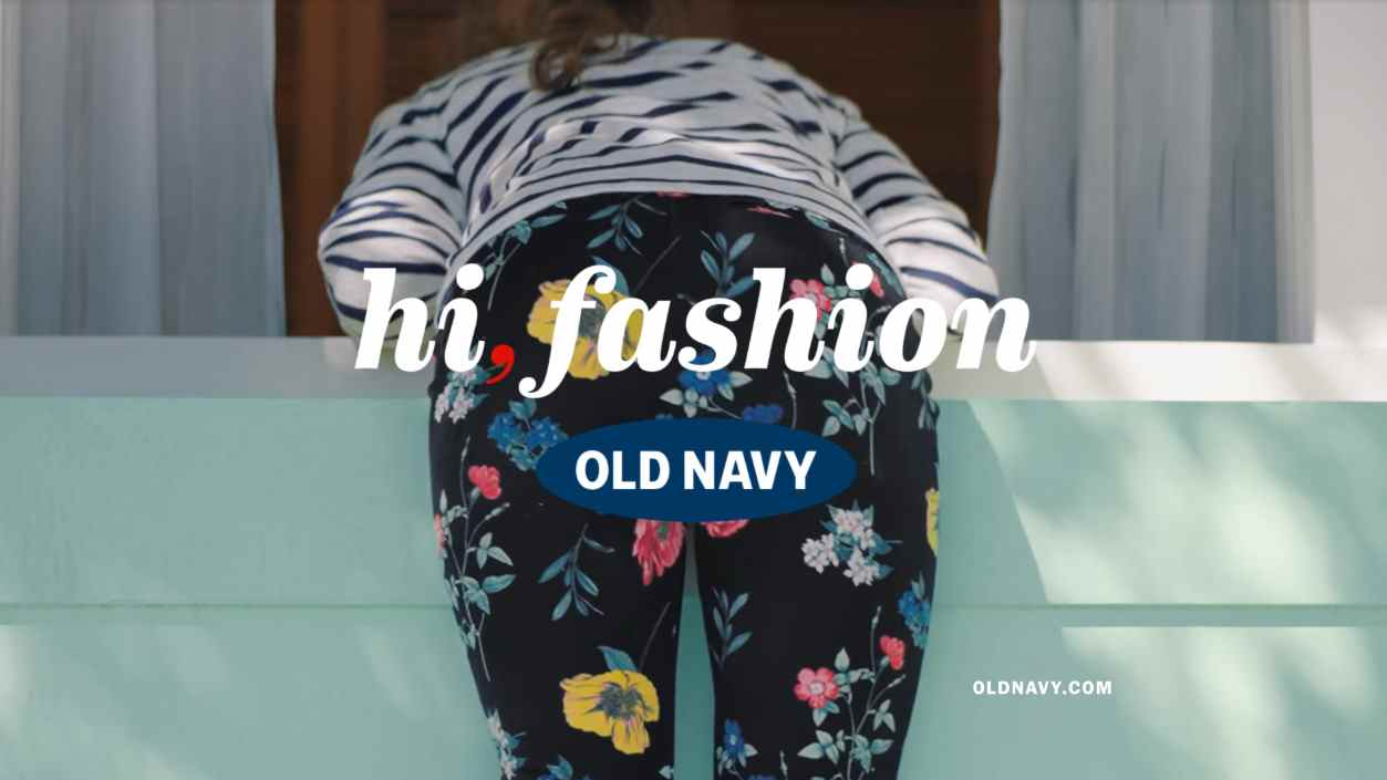 Музыка из рекламы Old Navy - Hi, Fashion