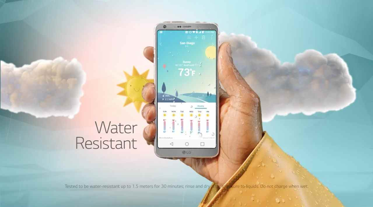 Музыка из рекламы LG G6 - The Big Screen that Fits in Your Hand